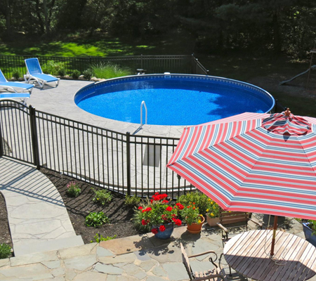 After - Inground Pools in Danbury, CT - Nejame & Sons